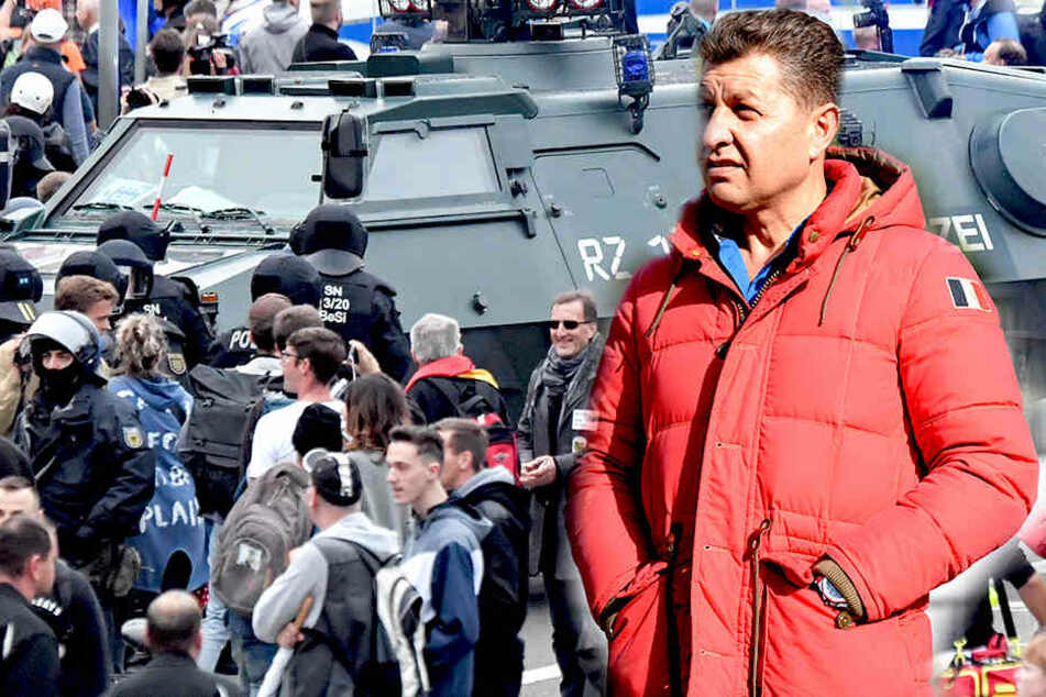 Präsident Ali Han hatte aufgrund der Ereignisse am Wochenende wenig Lust, mit seinem Club in der Nähe von Chemnitz zu nächtigen.