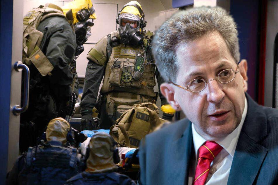 Verfassungsschutzpräsident Hans-Georg Maaßen ist sich sicher: Der Biobombe des Kölner Giftmischers wären viele Menschen zum Opfer gefallen.
