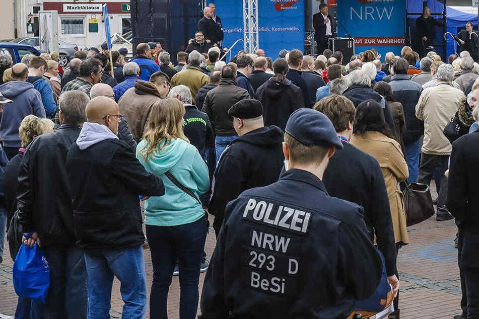 Im Mai 2017 wird in NRW ein neuer Landtag gewählt. Auch für die AfD läuft der Wahlkampf bereits auf Hochtouren.
