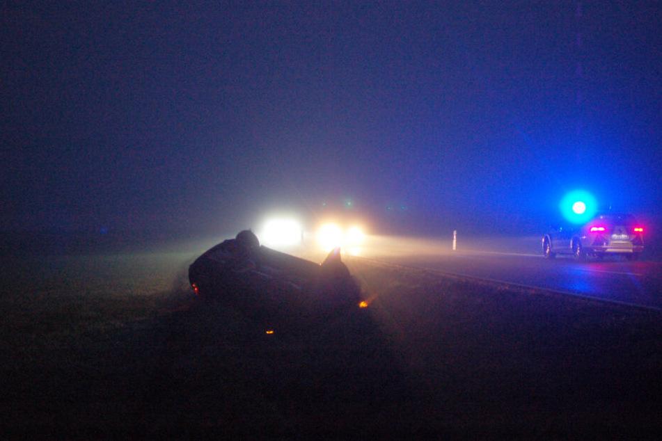 Grund für den Unfall könnten Sichtbehinderungen durch Nebel gewesen sein.