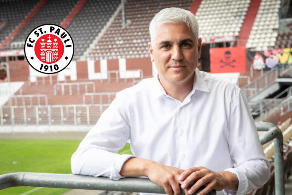Bornemann beginnt Arbeit beim FC St. Pauli mit Zurückhaltung