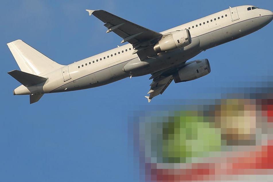 Vegetarier kann nicht fassen, was er im Flugzeug zu Essen bekommt