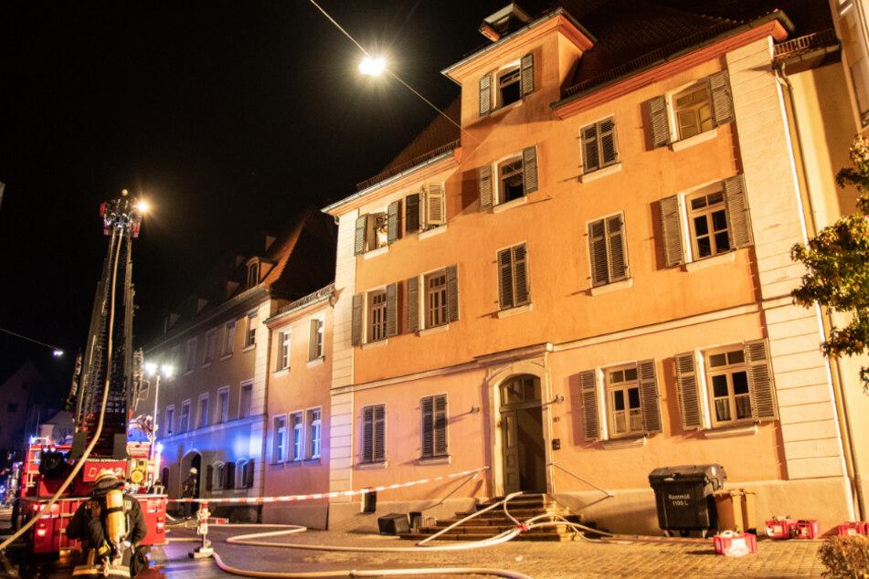 Die Brandursache war in Bayern zunächst unklar.