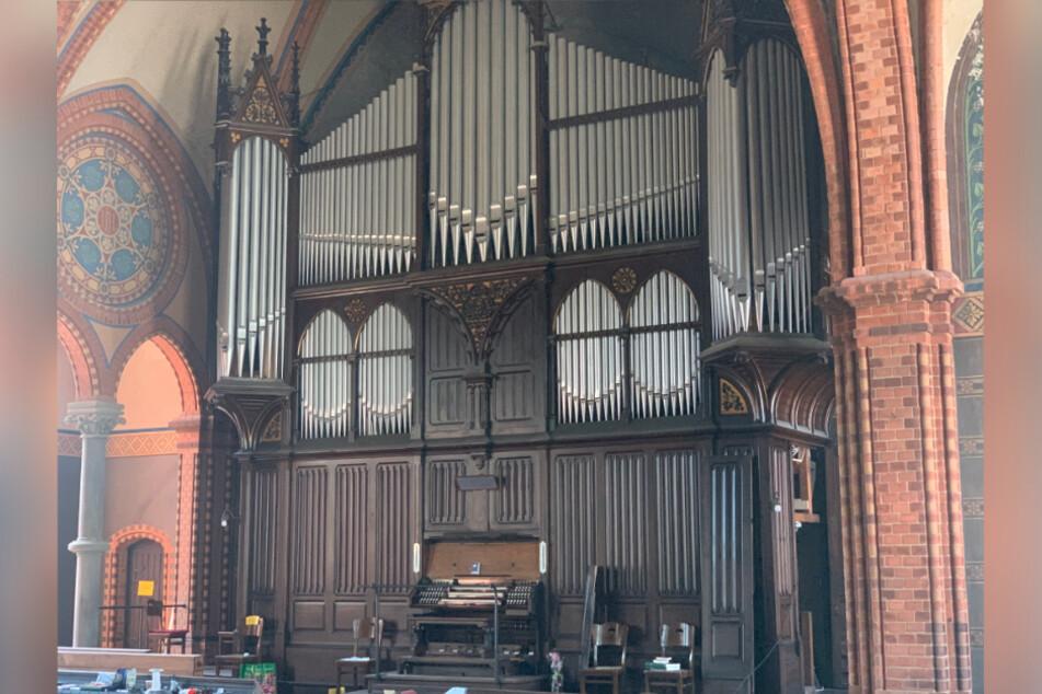 Die neue Konzertorgel in der Nathanaelkirche in Lindenau wird in der kommenden Woche eingeweiht.