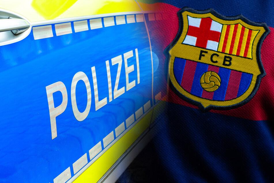 Mann mit Barcelona-Trikot sticht auf 31-Jährigen ein und flüchtet
