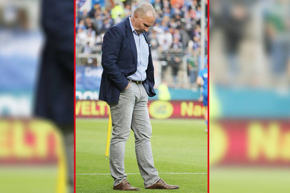 Er ist mehr als nur Präsident, nicht nur Repräsentant des Vereins. Er ist der Macher des FC Erzgebirge: Helge Leonhardt.