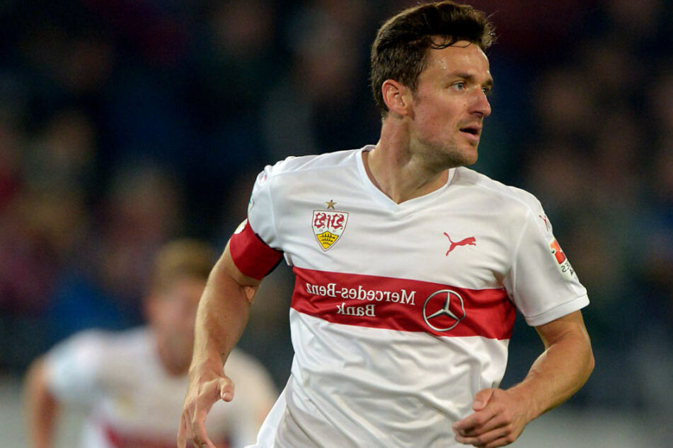 Stuttgarts Christian Gentner ist nach seiner Gesichtsverletzung wieder im Teamtraining.
