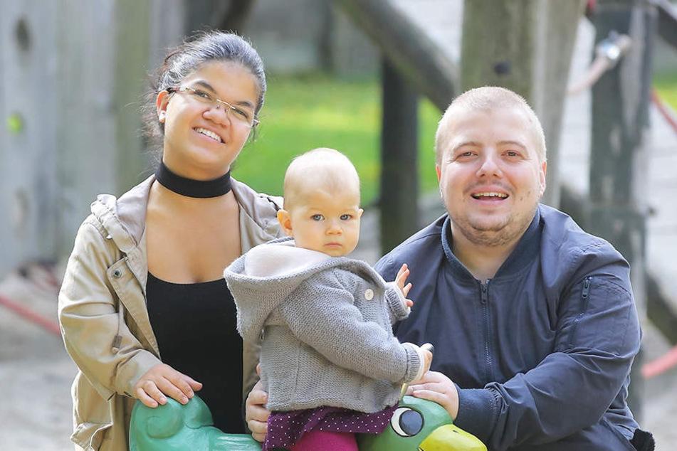Am liebsten verbringt Familie Amm Zeit auf dem Spielplatz.