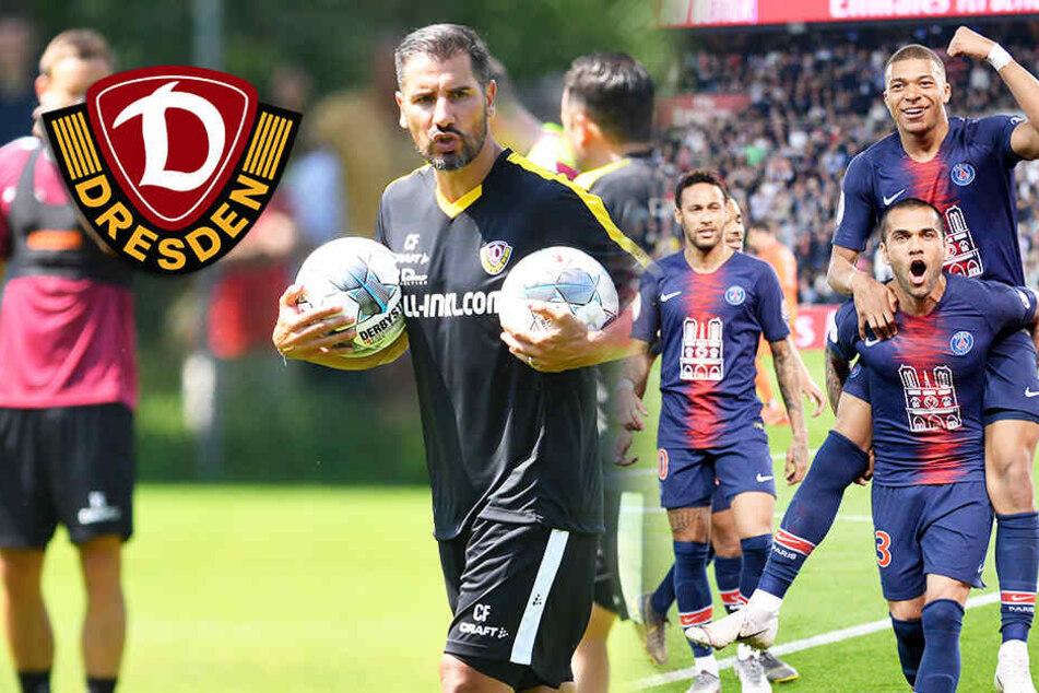 PSG-Hammer! Dynamo testet gegen Neymar und Mbappé!