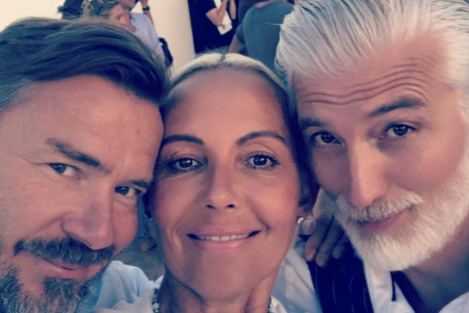 Natascha Ochsenknecht und ihre Kollegen am Set der neuen RTL2-Serie.