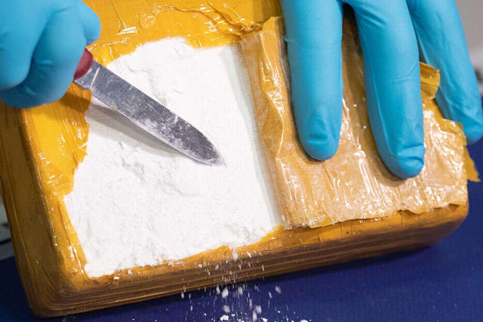 Auf einem Containerschiff im Hafen von Philadelphia wurden rund 15 Tonnen Kokain beschlagnahmt.