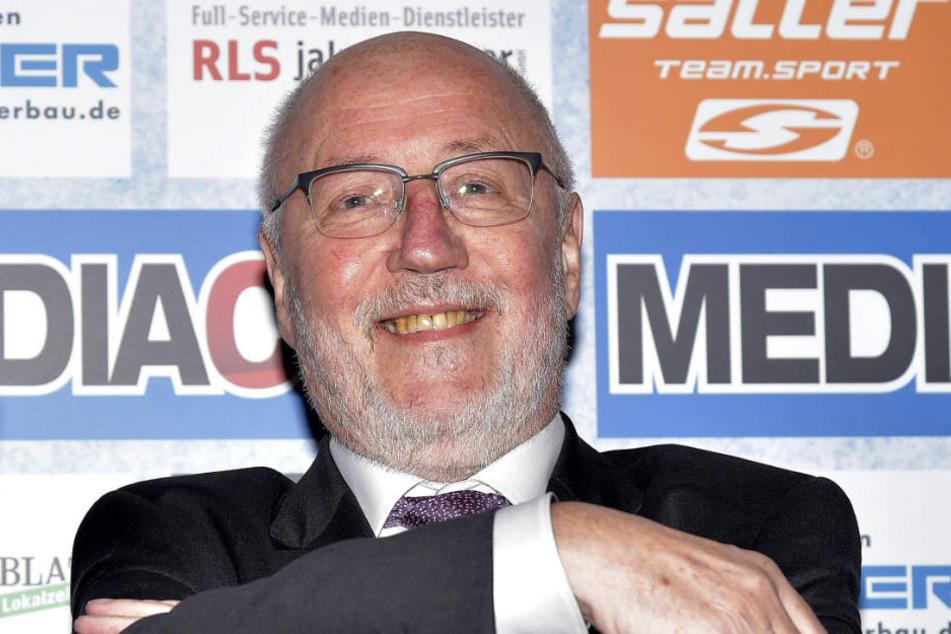 SCP-Präsident Elmar Volkmann freut sich auf die Zukunft des Vereins.