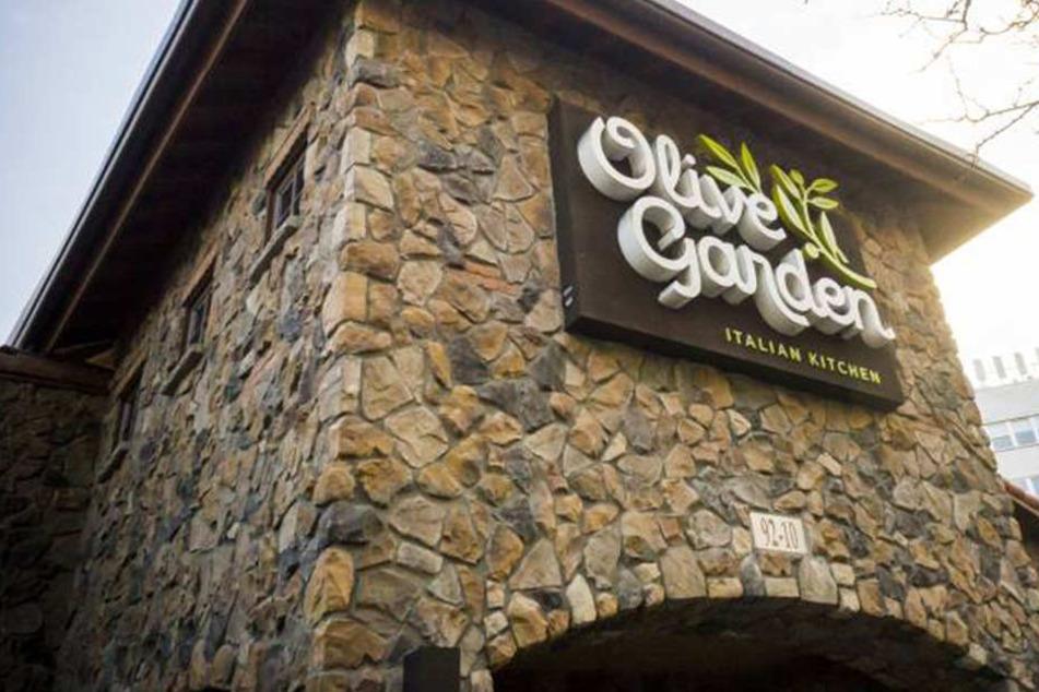 """In einem der Restaurants der Kette """"Olive Garden"""" trieb der vorbestrafte Kellner sein Unwesen."""