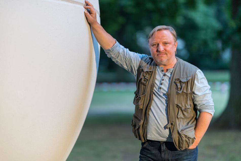 Der Musiker und Schauspieler Axel Prahl.