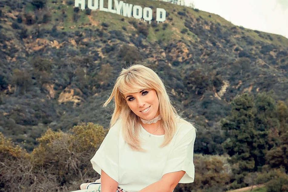 """Von """"DSDS"""" nach Hollywood: Annemarie Eilfeld (28) könnte schon bald in den USA musikalisch durchstarten. Einige Angebote hat sie in der Tasche."""