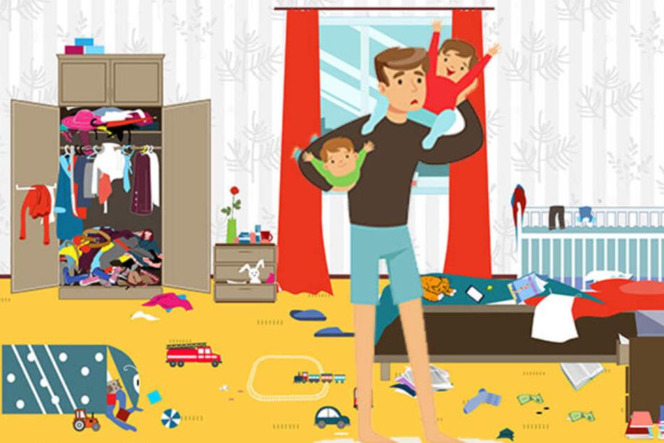 """Leider müssen auch Kinder den Pyjama im Laufe des Tages gegen etwas """"Richtiges"""" eintauschen."""