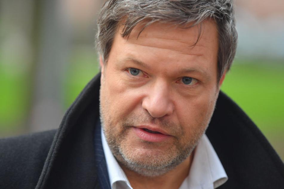 Robert Habeck fiel schon bei der Bayern-Wahl durch ein brisantes Video auf.