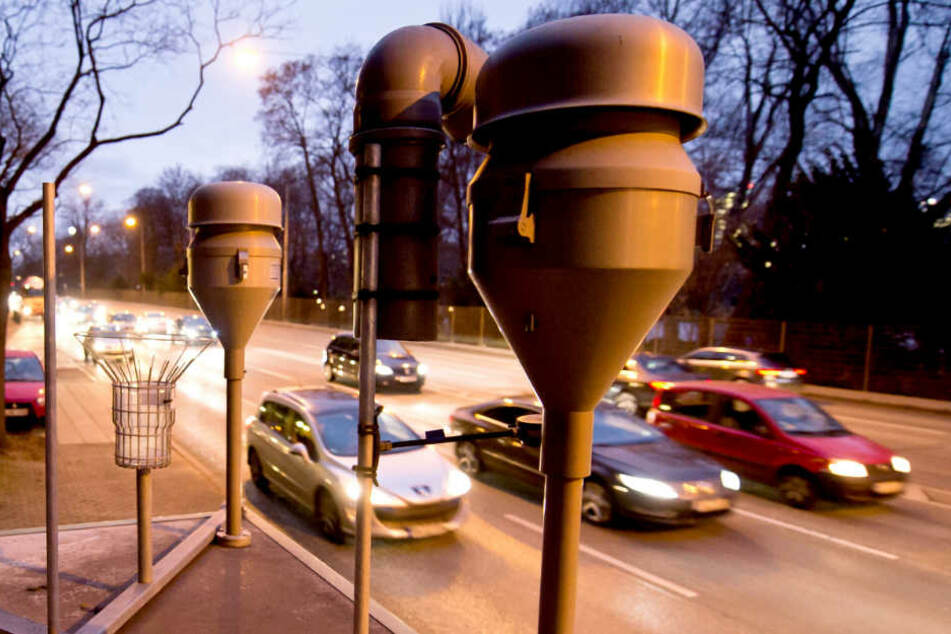 Die Straße Am Neckartor in Stuttgart ist deutschlandweit für ihre Feinstaubbelastung bekannt. (Archivbild)