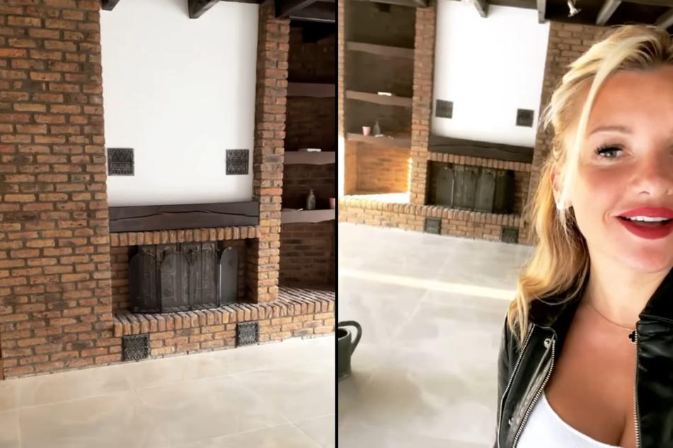 Evelyn Burdecki (32) präsentierte ihren Fans bei Instagram stolz das frisch renovierte Haus, das die TV-Blondine für ihre Eltern gekauft hat.