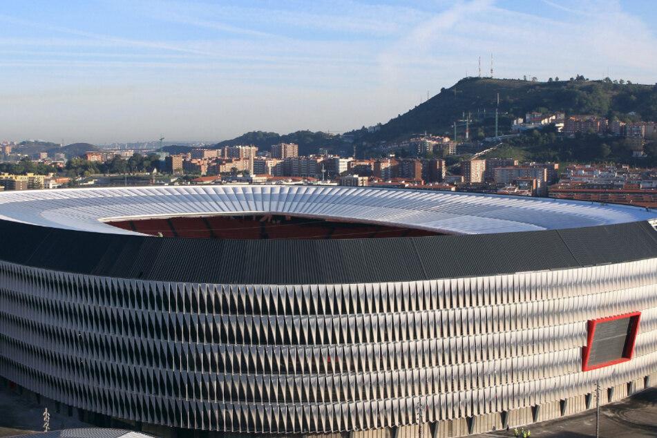 Das Stadion San Mames von Athletic de Bilbao.