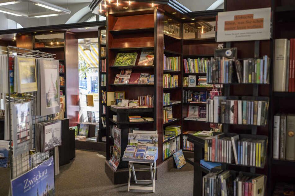 In dieser Buchhandlung wird Donna Leon ihr neues Werk vorstellen.