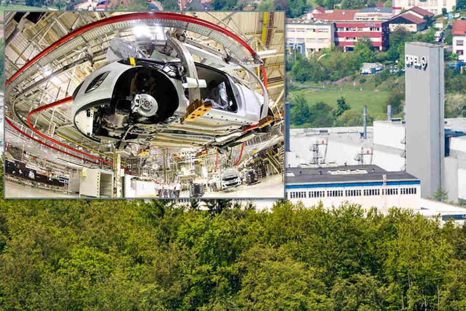 Kurzarbeit bei Opel in Eisenach. Auch Leiharbeiterverträge werden nicht verlängert.