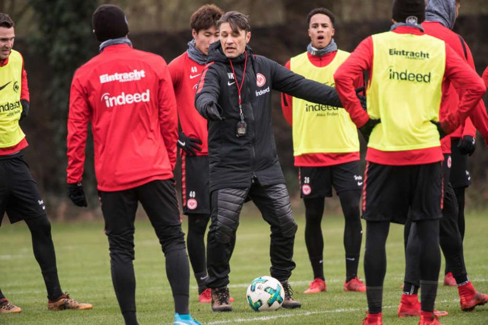 Niko Kovac will seinen Mannen in sechs Tagen bestmöglich auf die Rückrunde einstellen.