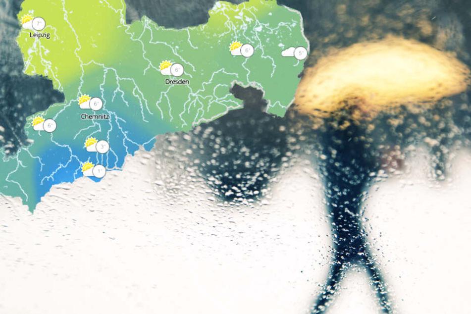 Wintereinbruch und Ekel-Wetter in Sachsen! Aber wie geht es weiter?