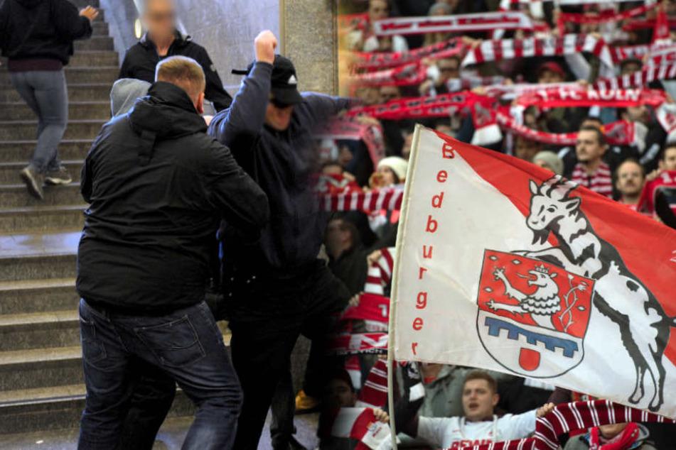 150 Kölner Fans stürmten aus dem Zug (Symbolfoto).