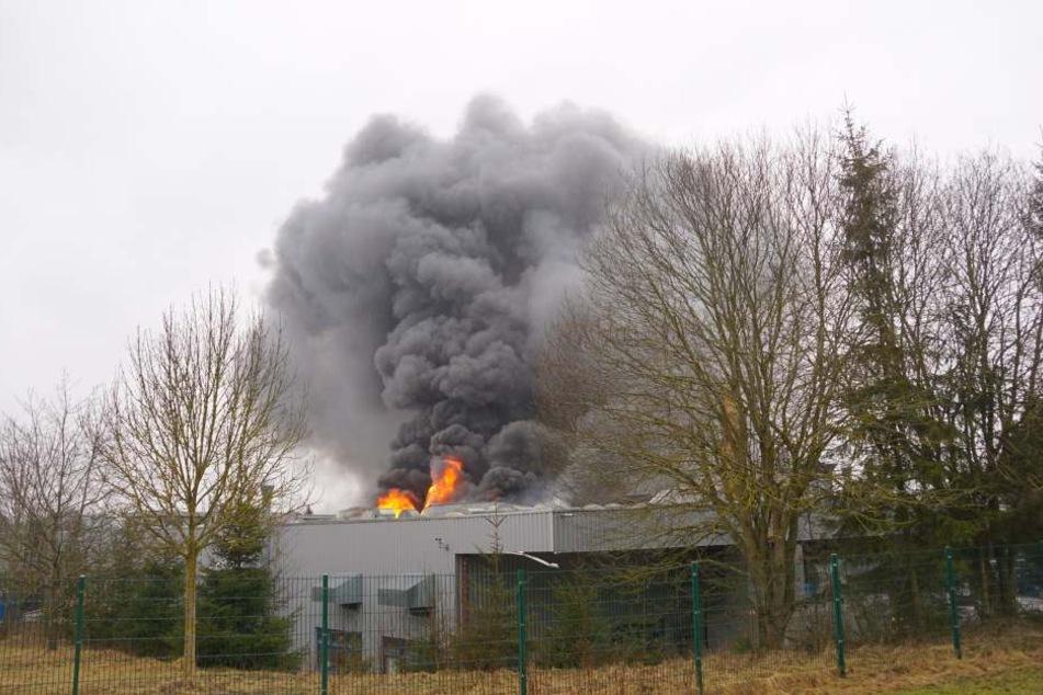 Mitarbeiter hatten zunächst versucht den Brand zu löschen.