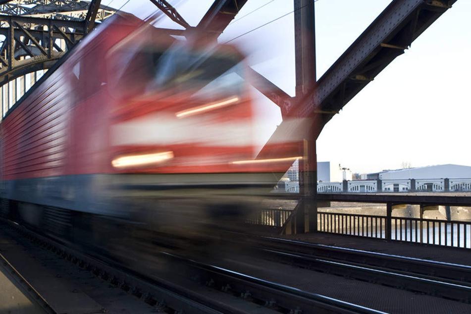 In Mecklenburg-Vorpommern musste ein Zug wegen eines Schneemanns eine Vollbremsung machen.