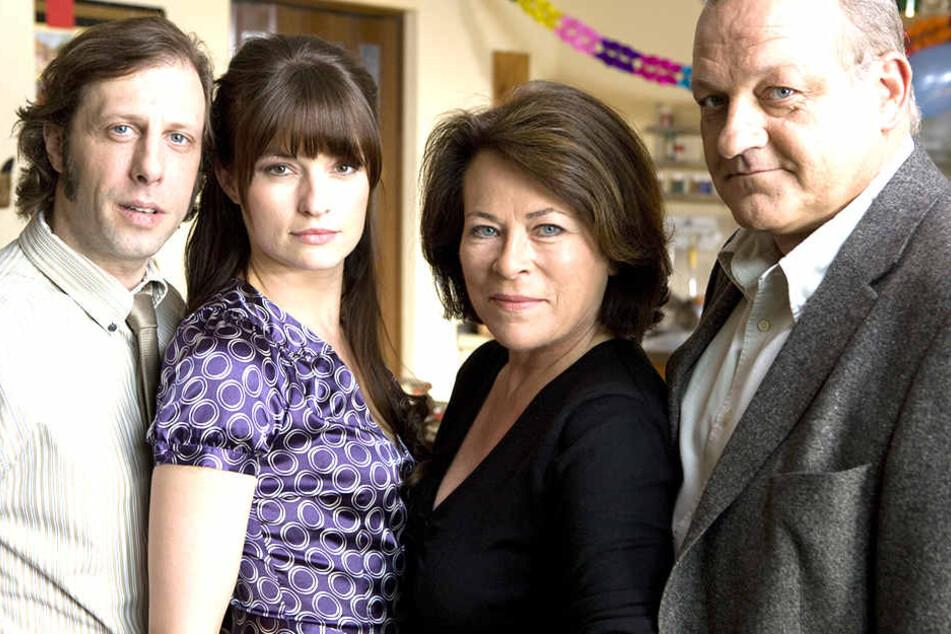 "Ekki (Oliver Korittke), Alex (Ina Paule Klink), Anna Springer (Rita Russek), Wilsberg (Leonard Lansink) prägen die Serie ""Wilsberg"" seit 60 Folgen!"