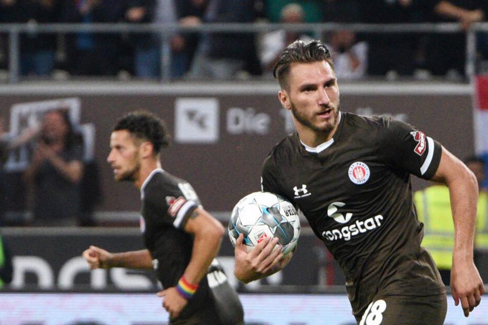 Trifft Dimitrios Diamantako auch im Spiel gegen den VfB Lübeck?