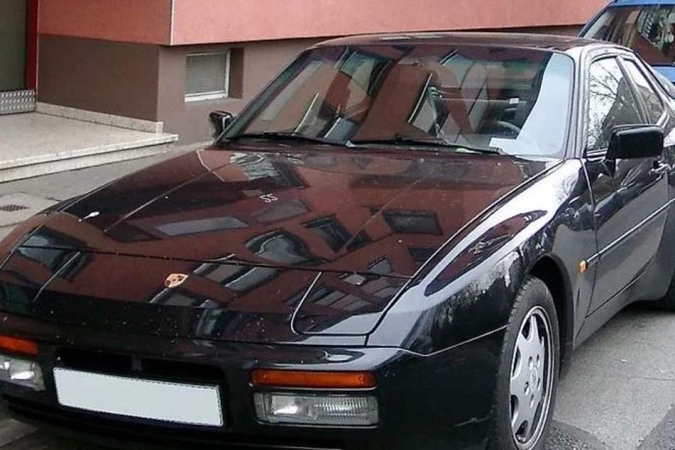 Schicker, schwarzer Porsche 944. (Symbolbild)