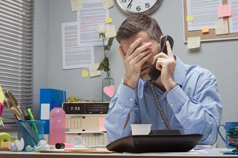Der 55-Jährige kam nicht zur Arbeit. Sein Chef meldete sich bei der Polizei. (Symbolbild)