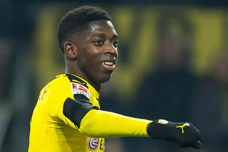 Ousmane Dembélé könnte dem BVB auch eineinhalb Jahre nach seinem Transfer weiteres Geld in die Kassen spülen.