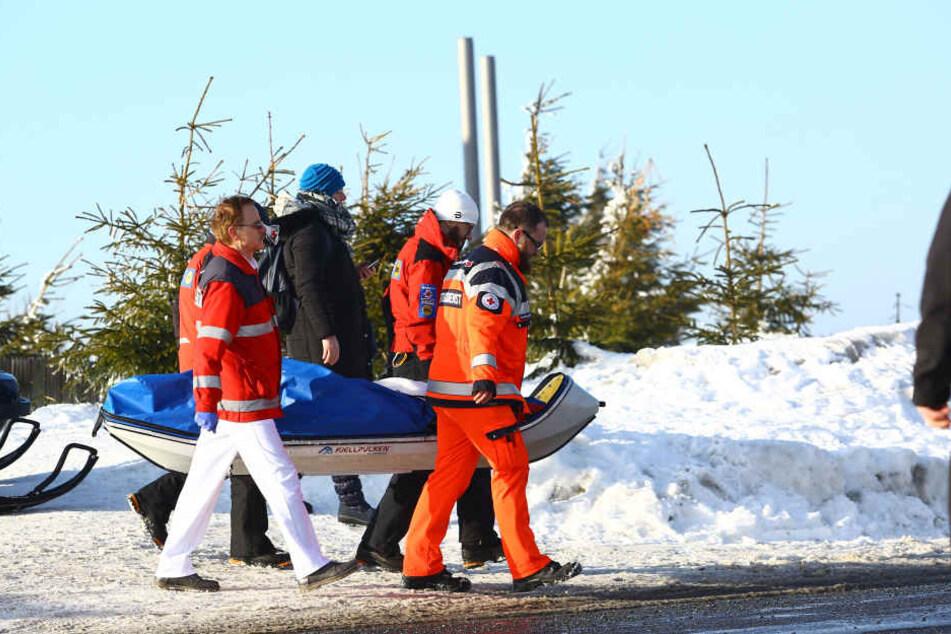 Auf dem Fichtelberg wurde ein Kind verletzt.
