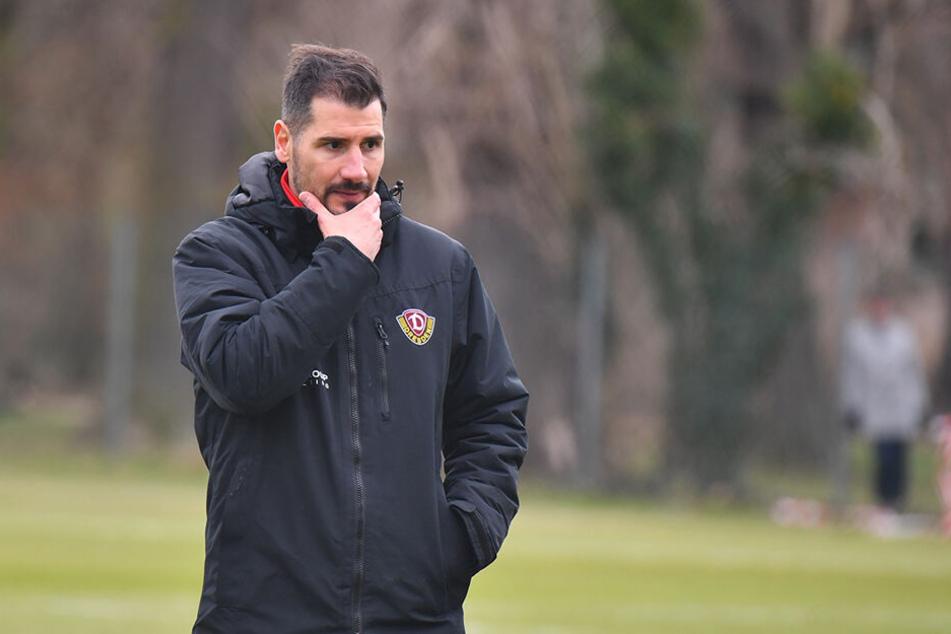 Dynamo-Coach Cristian Fiel setzte nicht mehr auf Rico Benatelli.