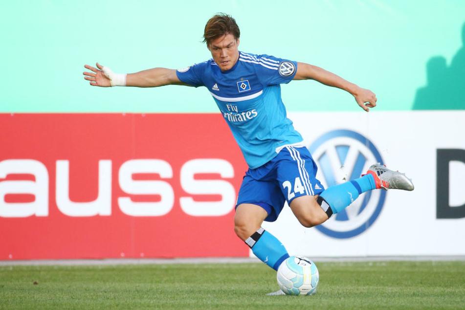 Im Mittelpunkt stand jedoch vor allem der japanische FußballprofiGotoku Sakai.