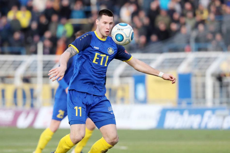 Ryan Malone erzielte das zwischenzeitliche 2:1 für Lok Leipzig.