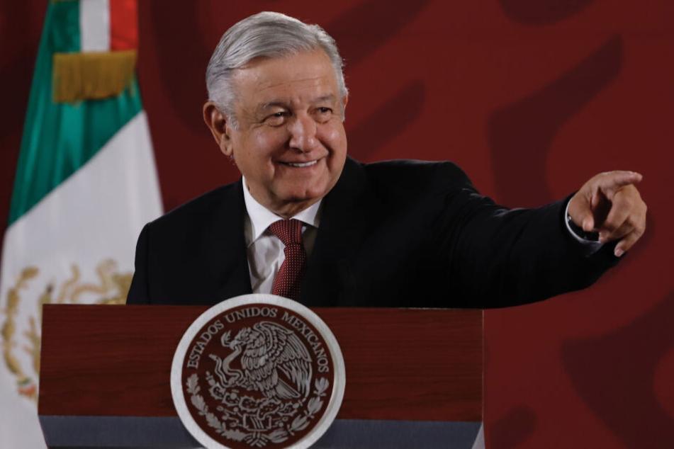 Mexikos Präsident Andrés Manuel López Obrador (66). (Archivbild)