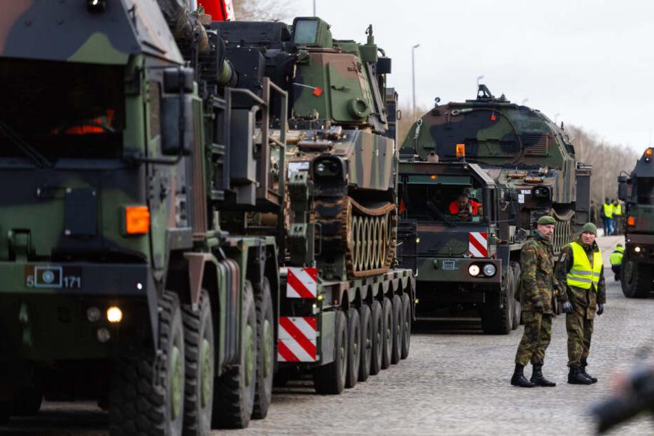Geheime Mission: Tausende Soldaten und Panzer ziehen bald durch NRW