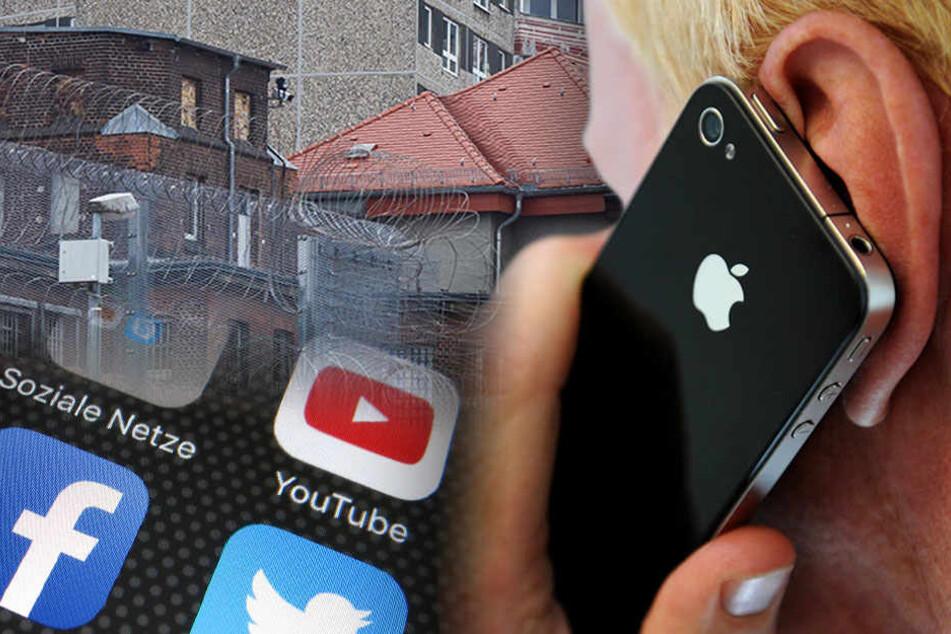 2015 wurden noch eine weitaus höhere Zahl an Handys beschlagnahmt. Wie der Übersicht zu entnehmen ist, waren es damals 1437 Mobiltelefone. (Bildmontage)