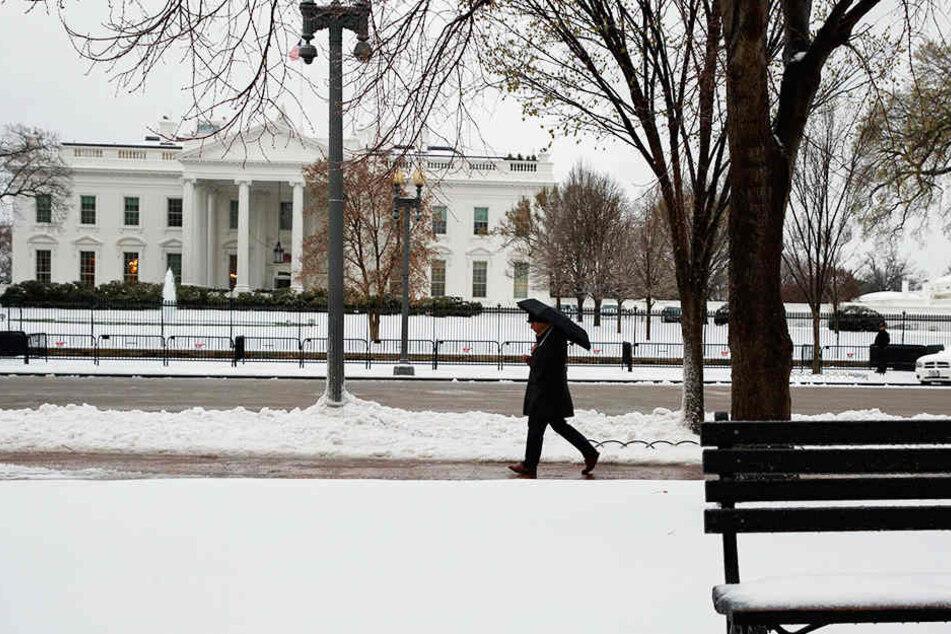 Der Mann schaffte es auf das Gelände des Weißen Hauses, allerdings nicht ins Innere.