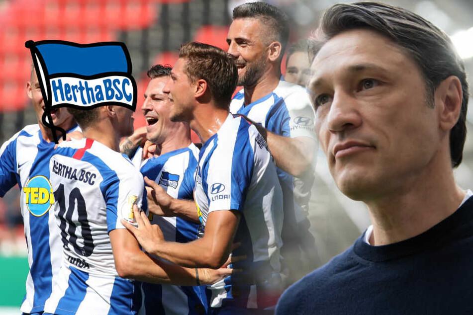 Hertha will in München Fußball spielen: Kovac warnt schon