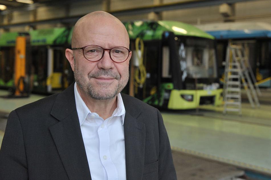 CVAG-Sprecher Stefan Tschök (60) wird immer öfter auf die sinnlose Randale angesprochen.