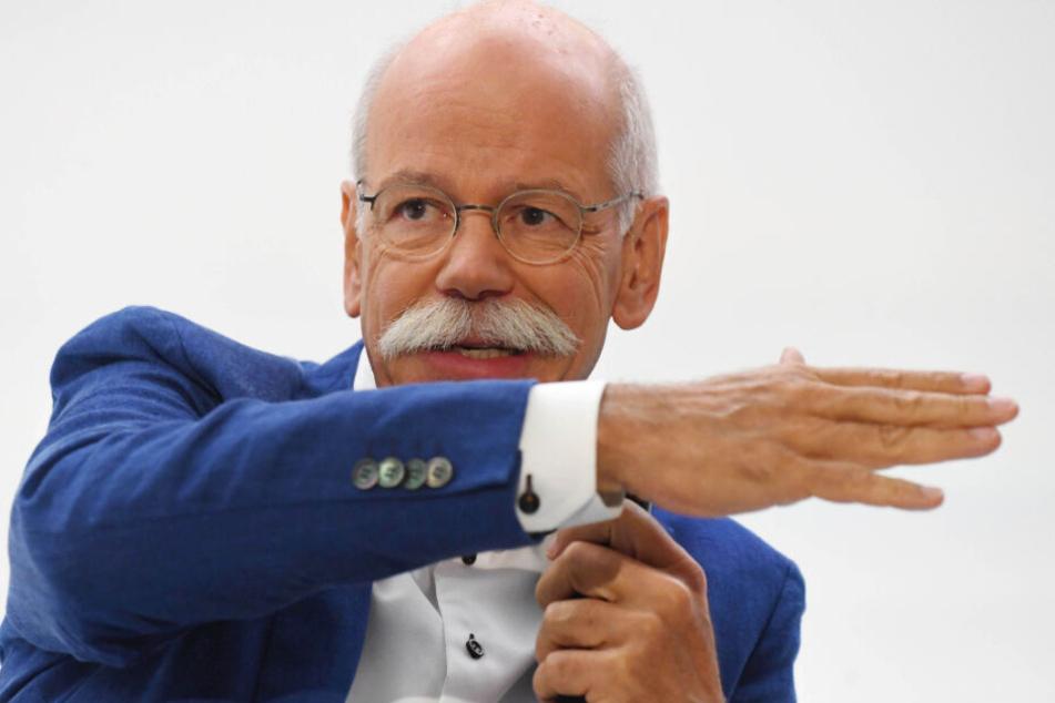 Über 13 Jahre war Dieter Zetsche Vorstandsvorsitzender bei Daimler.
