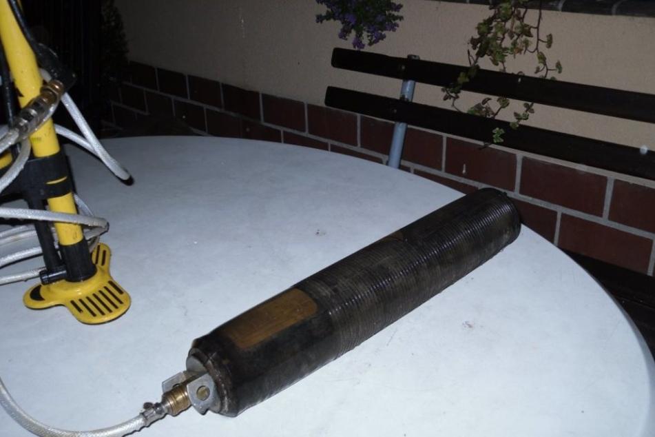Mit so einer Abwasserblase verstopfen die Behörden in Zukunft illegale Wasserleitungen.