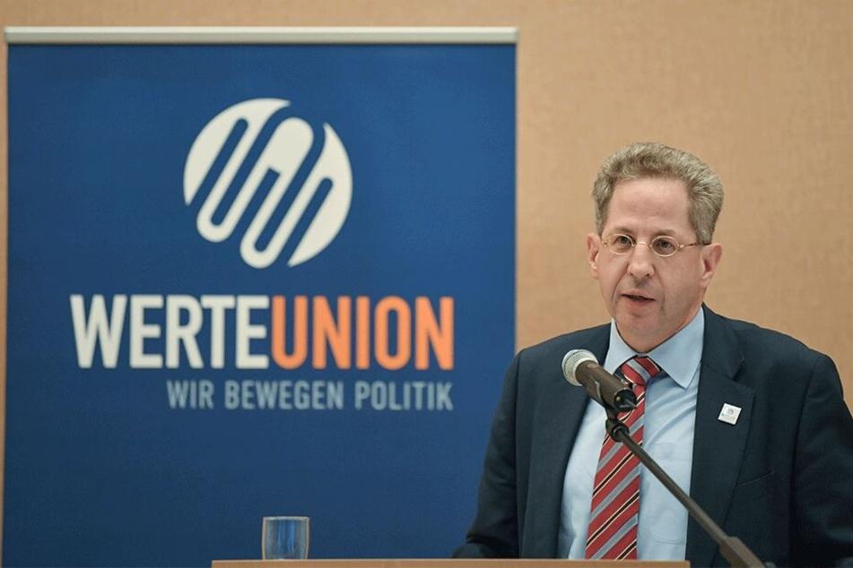Das Aushängeschild und Maskottchen der sächsischen WerteUnion: Hans-Georg Maaßen (56), ehemaliger Präsident des Bundesamtes für Verfassungsschutz. Im Wahlkampf war er mehrfach Gastredner für erzkonservative Christdemokraten.