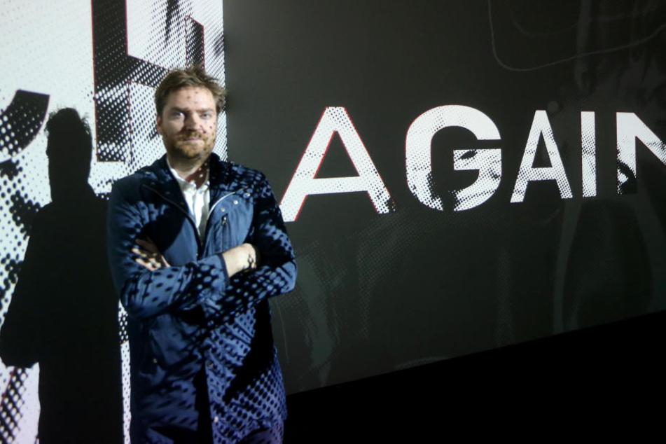 """Bis zum 6. Januar ist die Video-Installation """"Again/Noch einmal"""" von Mario Pfeifer in den Kunstsammlungen erstmals in einer Ausstellung zu sehen."""